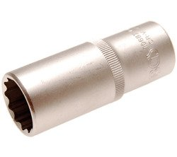 "Nasadka 1/2"" 22 mm 12-kt długa BGS Technic"
